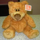GUND BEAR SIDNEY CINNAMON PLUSH STUFFED ANIMAL BEAR NEW WITH TAGS