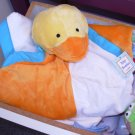 BABY BLANKET BABY BUDDIES YELLOW DUCKIE DUCK NEW BABY GANZ