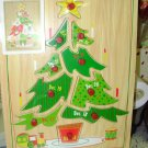 COUNTDOWN TO CHRISTMAS WOODEN TREE PUZZLE GUND NEW