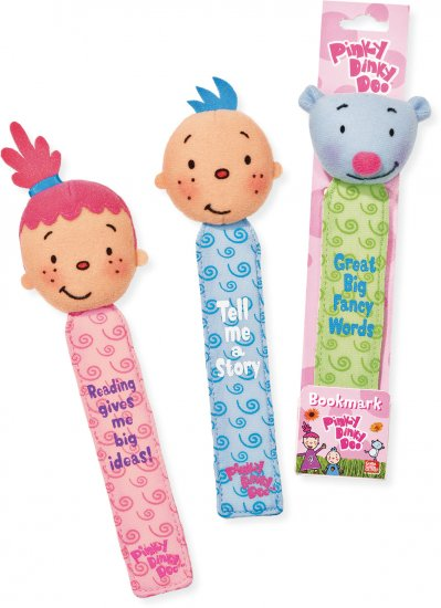 Pinky Dinky Doo Bookmark Pinky New Gund Childrens Kids Noggin TV