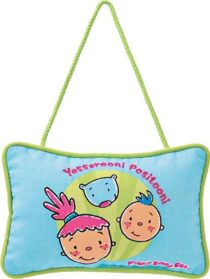 PINKY DINKY DOO DOOR HANGER PILLOW NEW GUND NOGGIN TV