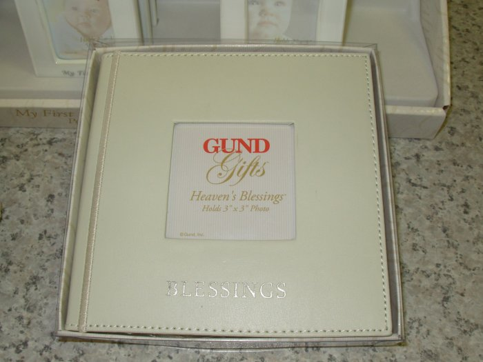 GUND HEAVENS BLESSINGS BABY JOURNAL ALBUM NEW KEEPSAKE SHOWER GIFT