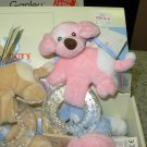 SPUNKY TEETHER PINK BABY GUND NEW WITH TAGS TEETHING RING
