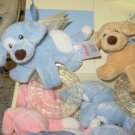 GUND SPUNKY TEETHER BLUE BABY GUND NEW WITH TAGS TEETHING RING