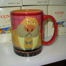 GUND DAILY GRIND WALBERT MUG TALK TO THE TUSKS FUNNY NEW CERAMIC COFFEE MUG