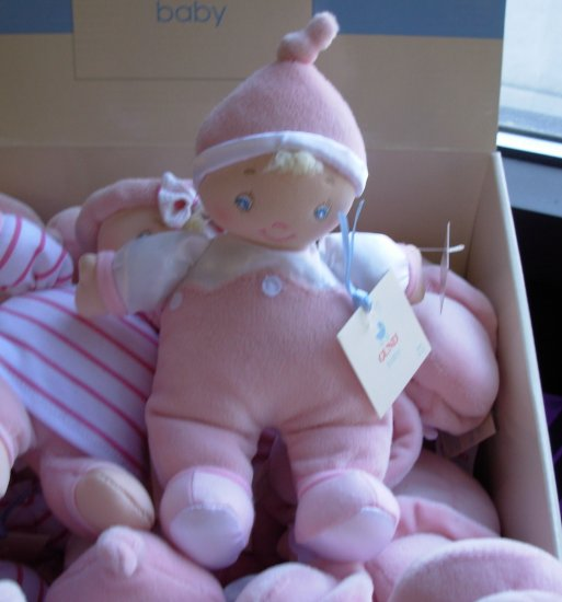 LITTLE BABY DOLL GIGGLERS BABY GUND NEW WITH TAGS GIGGLES WHEN SQUEEZED TOY