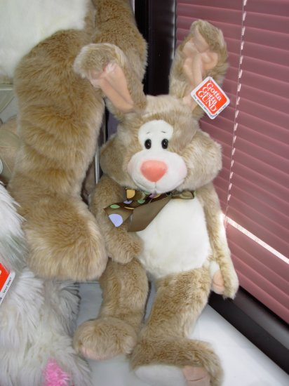 GUND CARLYLE BUNNY RABBIT STUFFED PLUSH ANIMAL NEW WITH ORIGINAL TAGS