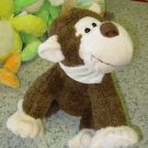 SAMMY PLUSH STUFFED ANIMAL MONKEY NEW WITH TAGS GANZ TOY CHIMPANZEE