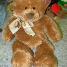 GUND TEDDY BEAR PATCHES RETIRED PLUSH STUFFED ANIMAL NEW WITH ORIGINAL TAGS RARE