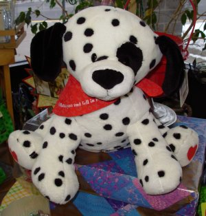GUND DALMATION I SPOTTED YOU AND FELL IN LOVE PLUSH STUFFED ANIMAL PUPPY DOG NEW WITH TAGS VALENTINE