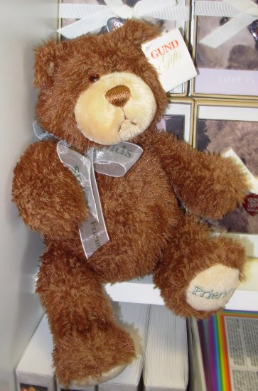 GUND TIMBER FRIENDS PLUSH STUFFED ANIMAL BEAR GUND NEW WITH TAGS GIFT BEAR RETIRED