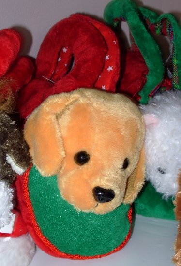 LOVE TO GO SASHA STUFFED PLUSH ANIMAL GOLDEN RETRIEVER  IN CARRYING PURSE NEW WITH TAGS