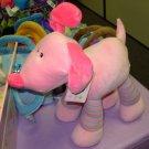 PINK PUPPY DOG BIG GIGGLING GIRLS PLUSH STUFFED ANIMAL NEW WITH TAGS GUND