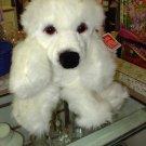GUND POODLE PLSUH TRIXY WHITE POODLE PLUSH STUFFED ANIMAL PUPPY DOG NEW WITH TAGS GUND