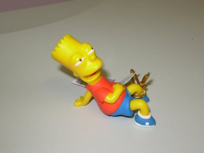 BART SIMPSON PVC FIGURINE HOMER SIMPSON TV CHARACTER NEW