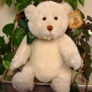 GUND DEMPSEY RETIRED WHITE JOINTED BEAR GUND NEW 11 INCH STUFFED PLUSH ANIMAL