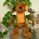 GUND RETIRED BEAR SYCAMORE NEW WITH ORIGINAL TAGS PLUSH STUFFED ANIMAL