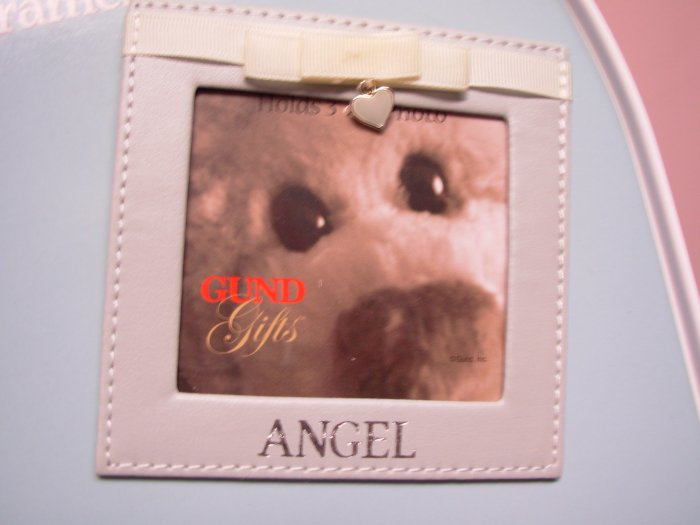 MAGNETIC PICTURE FRAME TODAY AND ALWAYS GUND PHOTO HOLDER MAGNET SAYS ANGEL NEW GUND GIFTS