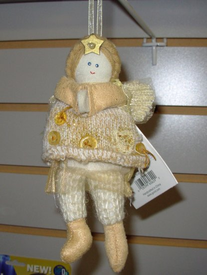 ANGEL CHRISTMAS ORNAMENT NATURE SINGS CREATED BY SWEET HOME DESIGNED BY CHERYL ANN JOHNSON NEW GUND