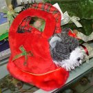 STUFFED PLUSH ANIMAL LOVE TO GO WHITNEY SCHNAUZER IN CARRYING PURSE NEW WITH TAGS