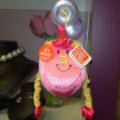 GUND MUSICAL HANNUKAH DREIDEL PINK PLAYS THE DREIDEL SONG AND HAS A SUCKER HANGER NEW GUND