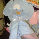 GUND SPUNKY HOODED TOWEL BLUE NEW WITH TAGS GUND PLUSH TERRY CLOTH BABY BATH NURSERY