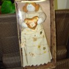 GUND ANGEL TREE TOPPER NATURE SINGS GOLD CREATED BY SWEET HOME NEW RETIRED