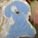 GUND SPUNKY CUDDLEHUGS BLUE BLANKET WALL HANGING NEW BABY NURSERY DECOR MACHINE WASHABLE