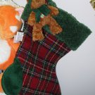 GUND STRATON CHRISTMAS STOCKING RETIRED COLLECTIBLE HOLIDAY DECOR