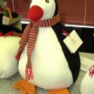 HANDKNIT PENQUIN GUND NEW COUNTDOWN TO CHRISTMAS PLUSH STUFFED ANIMAL RETIRED