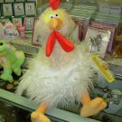 HAIROIDS STUFFED MOPPELS CHICKEN PLUSH STUFFED ANIMAL GUND NEW