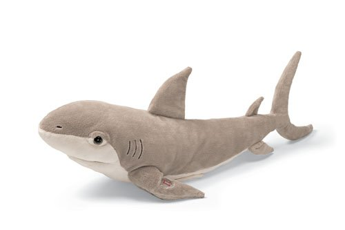 GUND SHARPIE SINGING STUFFED PLUSH ANIMAL SHARK GUND NEW WITH TAGS
