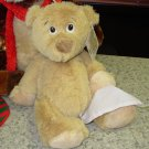 STUFFY BEAR PLUSH STUFFED ANIMAL WITH HANDKERCHIEF HAS THE SNIFFLES NEW GANZ GET WELL SOON GIFT