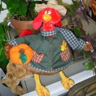 FALLIN INTO AUTUMN FOWLER SR. PLUSH STUFFED ANIMAL TURKEY GUND COLLECTIBLE NEW WITH TAGS RETIRED