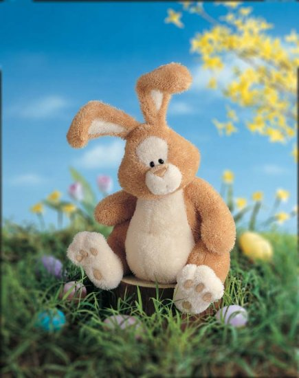 JUST A BUNNY PLUSH STUFFED RABBIT GUND NEW EASTER GIFT LARGE