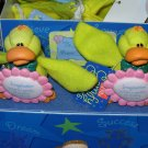 COMFY CRITTERS DUCK FIGURINE GUND RETIRED SAYS BELIEVE WHEN YOUR BELIEVE...  NWT