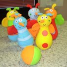 BABY BOWLING SET BUGGY BUDDIES NEW GUND TOY SET GOOFY FUN FOR TODDLERS