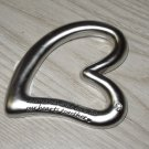 HEART PAPERWEIGHT SATIN FINISHED METAL SAYS MEMORIES AND LOVE TIE OUR HEARTS....NEW GANZ GREAT GIFT