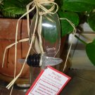 A CHRISTMAS KEEPSAKE MESSAGE IN A BOTTLE CRUET WITH CHRISTMAS MESSAGE GREAT GIFT NEW GANZ