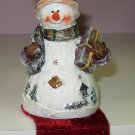 SNOWMAN SHELF SITTER CHRISTMAS NEW GANZ HOME HOLIDAY DECOR