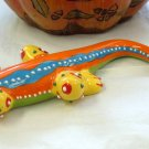 FIGURINE POLKA DOT LIZARD CERAMIC HOME DECOR NEW GANZ