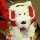 DOG CHRISTMAS CAPE COAT WASHABLE COSTUME PUPPY DOG FOR CHRISTMAS PET ACCESSORIES NEW GANZ