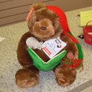 NEW CHRISTMAS STORYTIME BEAR GUND RECITES THE NIGHT BEFORE CHRISTMAS AND MOVES ANIMATED PLUSH BEAR