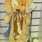 SPUNKY HUGGYBUDDY BROWN AND CREAM BABY GUND PUPPY DOG  MACHINE WASHABLE LOVEY