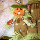 GUND CLEMSON AUTUMN COLLECTION SCARECROW RAG DOLL PLUSH GUND HOLIDAY SMALL
