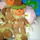 GUND CLEMSON AUTUMN COLLECTION SCARECROW RAG DOLL PLUSH GUND HOLIDAY MEDIUM