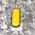 INITIAL MAGNET LETTER I YELLOW AND BLACK SOFT RUBBER NEW