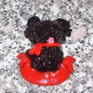 SCOTTIE ARTISAN CRAFTED PUPPY DOG CHRISTMAS ORNAMENT
