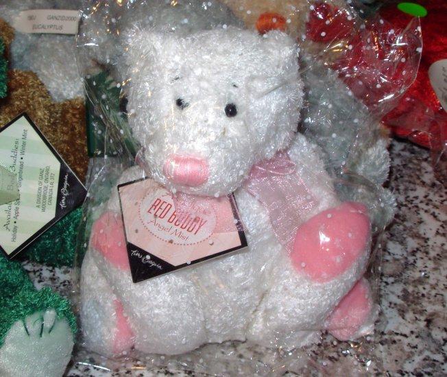 TIME AND AGAIN BED BUDDIES TEDDYBEAR ANGELIQUE PLUSH STUFFED ANIMAL NEW GANZ 2001 RETIRED