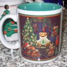 COFFEE MUG TEDDYBEAR CHRISTMAS HOLIDAY KITCHEN COLLECTIBLE